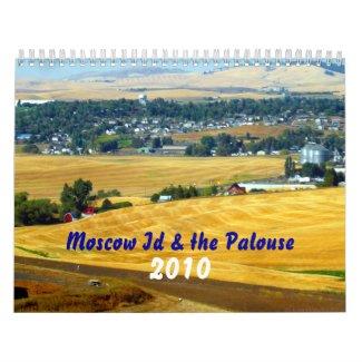 Moscow Id & the Palouse, 2010 calendar