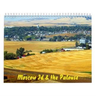 Moscow Id & the Palouse Calendar