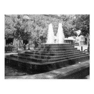 Moscow Idaho Fountain Postcard
