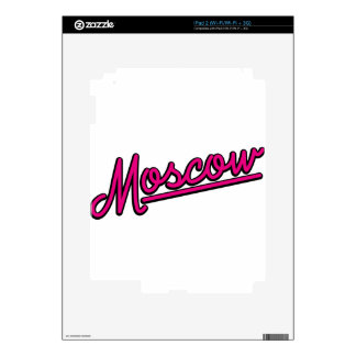 Moscow in magenta skin for iPad 2