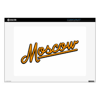"Moscow in orange 15"" laptop decals"