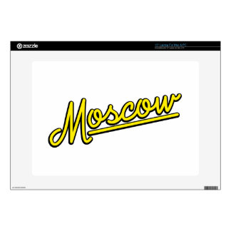 "Moscow in yellow 15"" laptop skin"