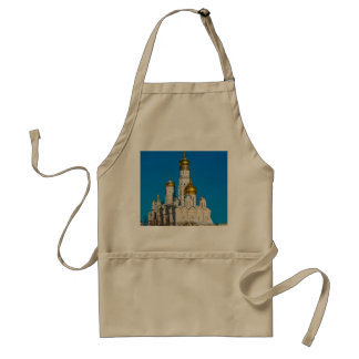 Moscow Kremlin cathedrals Adult Apron