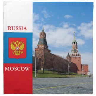 Moscow Kremlin Cloth Napkin