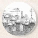Moscow Kremlin design by Schukina g048 Posavasos Personalizados