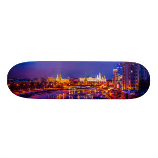 Moscow Kremlin Illuminated Skateboard