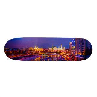 Moscow Kremlin Illuminated Skate Board Deck