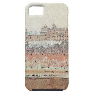 Moscow Kremlin in winter by Vasily Vereshchagin iPhone SE/5/5s Case