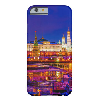 Moscow Kremlin In Winter Night Barely There iPhone 6 Case