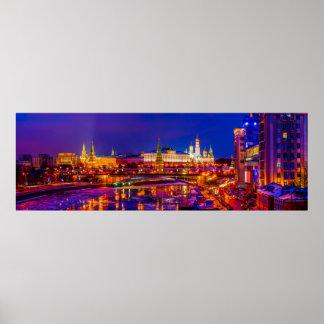 Moscow Kremlin Panorama Poster