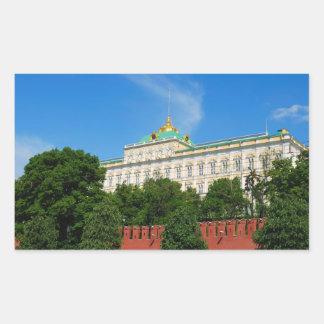 Moscow Kremlin Rectangle Sticker