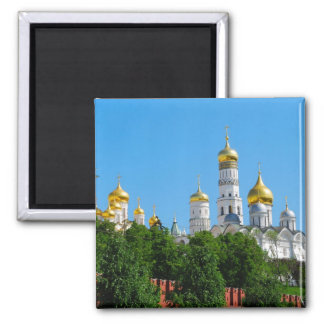 Moscow Kremlin Square Magnet