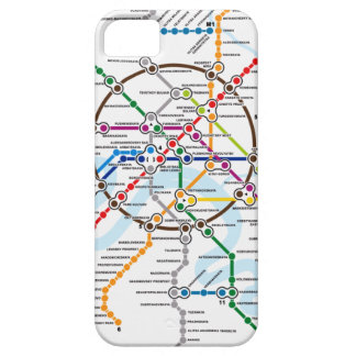 Moscow Metro Map - iPhone 5 case
