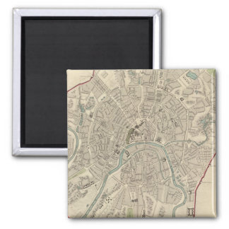 Moscow Moskvy 2 Inch Square Magnet