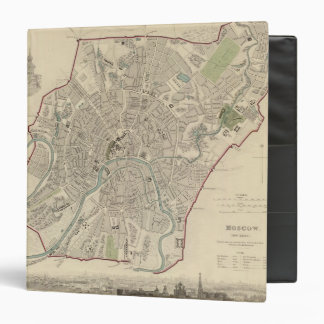 Moscow Moskvy 3 Ring Binder