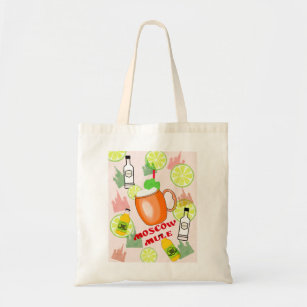 Moscow Mule Cocktail Tote Bag