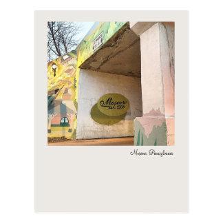 Moscow,PA-Railroad Bridge Market St. & PA 435 Postcard