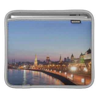 Moscow River at Dusk iPad Sleeve