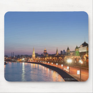 Moscow River at Dusk Mouse Pad