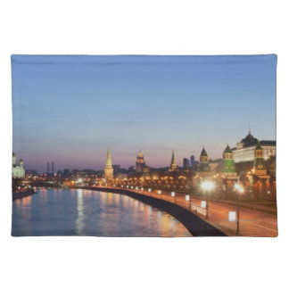 Moscow River at Dusk Cloth Placemat