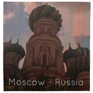 Moscow_russia_1 Napkin