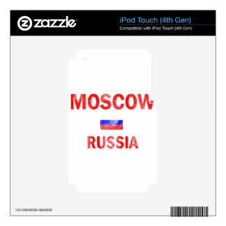 Moscow Russia Designs iPod Touch 4G Skin