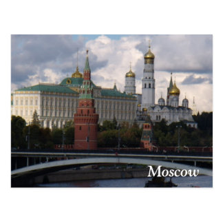 Moscow, Russia; Kremlin Post Card