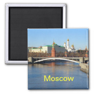 Moscow Russia magnet