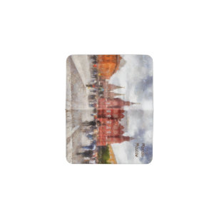 Museum business card holders cases zazzle moscow russia manezhnaya square business card holder colourmoves
