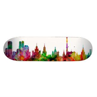 Moscow Russia Skyline Skate Board