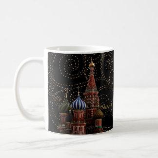 Moscow Russia St. Basil's Cathedral Coffee Tea Mug Coffee Mug