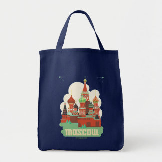 Moscow Russia Tote Bag
