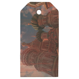 Moscow_russia Wooden Gift Tags