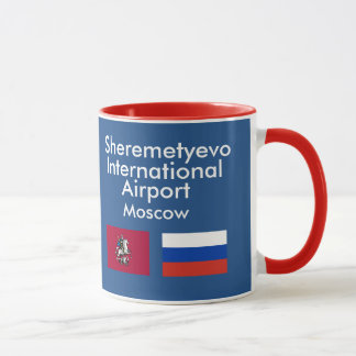 Moscow Sheremetyevo* International Airport SVO Mug