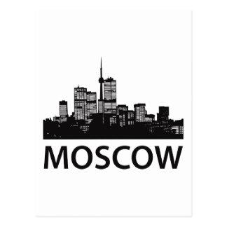 Moscow Skyline Postcard