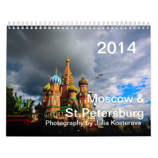 Moscow & St.Petersburg. 2014 Calendar