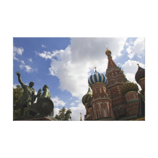 Moscow Stretched Canvas Print