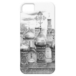 Moscow the Kremlin design by Schukina g048 iPhone SE/5/5s Case