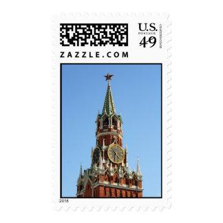 Moscú el Kremlin Franqueo