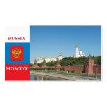 Moscú el Kremlin Tarjeta De Visita