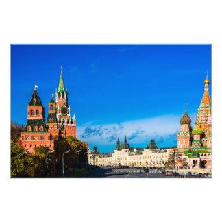 Moscú el Kremlin y cuadrado rojo Cojinete