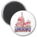 Moscú Imán Para Frigorífico