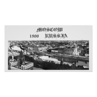 Moscú, Rusia, 1900 Póster