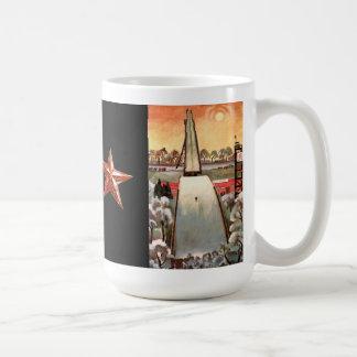 MOSCÚ RUSIA TAZA DE CAFÉ