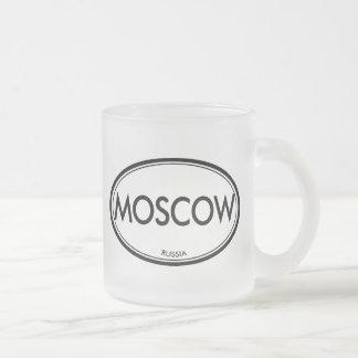 Moscú, Rusia Taza De Café