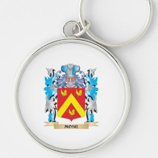 Mose Coat of Arms - Family Crest Keychain