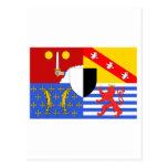 Moselle flag postcard