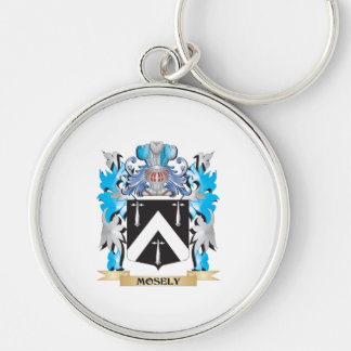 Mosely Coat of Arms - Family Crest Key Chain