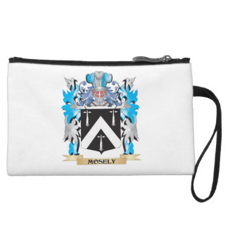 Mosely Coat of Arms - Family Crest Wristlet Purse