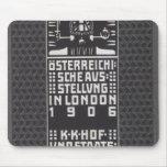 Moser-Catálogo de Koloman de la exposición austría Tapetes De Ratones